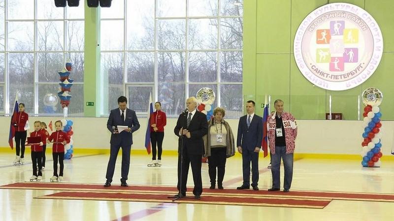 Полтавченко открыл ледовую арену имени Всеволода Боброва в Сестрорецке
